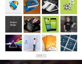 Nro 62 kilpailuun Design a Website Mockup for Graphics website käyttäjältä webgraphics007