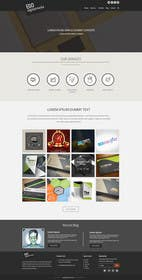 Nro 40 kilpailuun Design a Website Mockup for Graphics website käyttäjältä ankisethiya