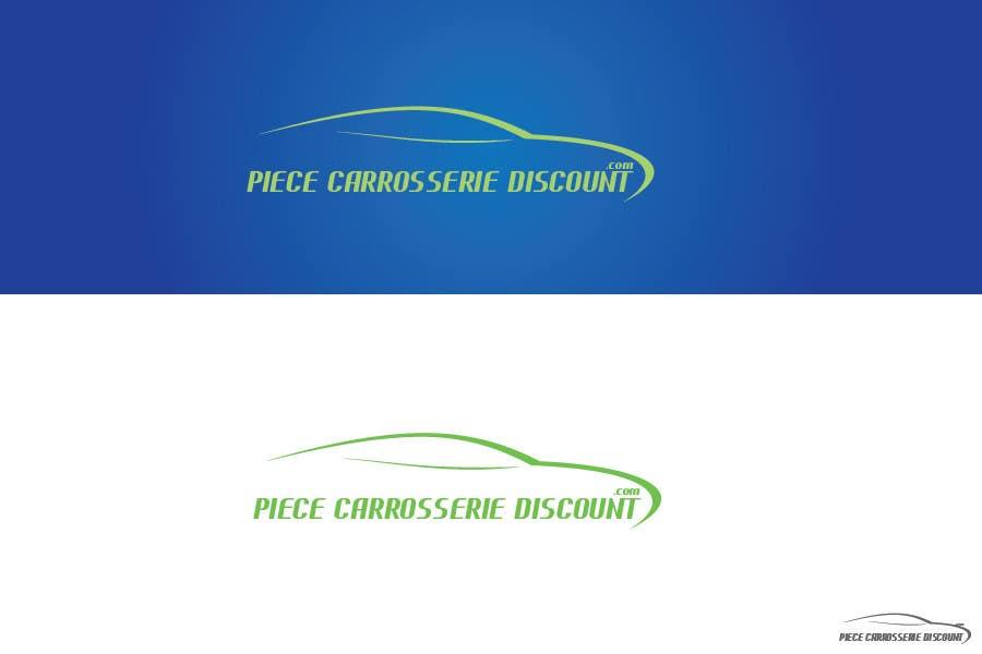 Contest Entry #                                        105                                      for                                         Logo Piece-carrosserie-discount.com