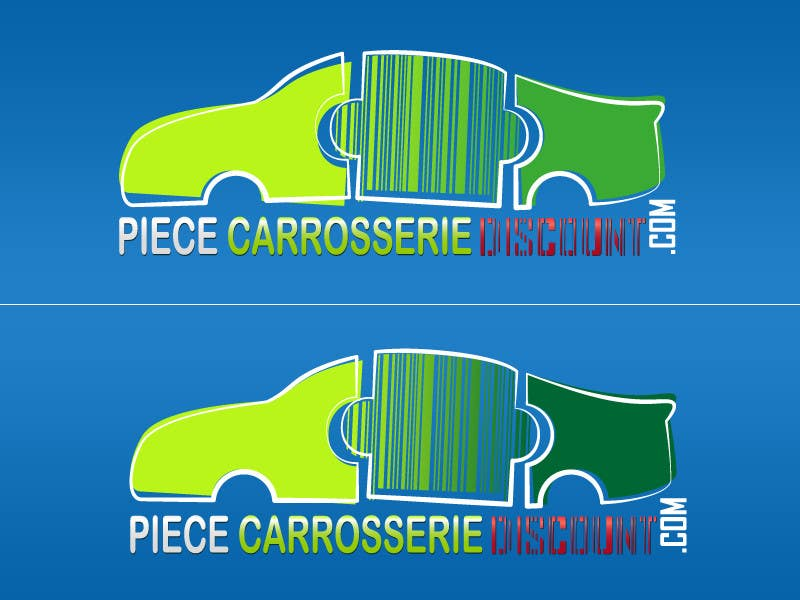 Contest Entry #101 for Logo Piece-carrosserie-discount.com