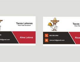 #13 for Design some Business Cards for a taco business af Shrey0017