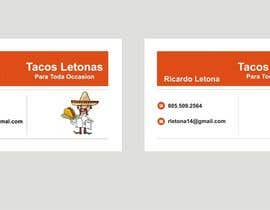 #17 for Design some Business Cards for a taco business af Shrey0017