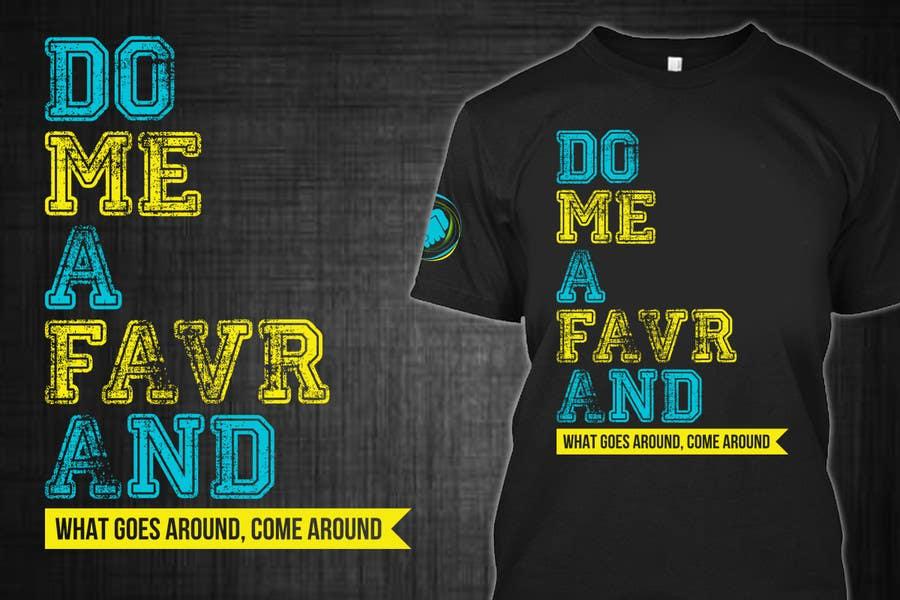 Entry #62 by erwinubaldo87 for Design a T-Shirt for an app | Freelancer