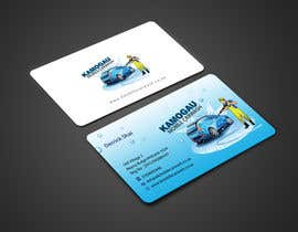 #7 cho Design a letterhead and business card for a car wash. bởi einsanimation
