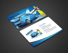 #8 cho Design a letterhead and business card for a car wash. bởi einsanimation