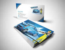 einsanimation tarafından Design a letterhead and business card for a car wash. için no 12