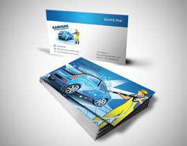 #15 cho Design a letterhead and business card for a car wash. bởi einsanimation