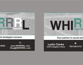 #8 untuk Design some Business Cards for WHIRRRL oleh Shrey0017