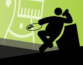 Nro 12 kilpailuun Abstract weight loss illustration käyttäjältä iambedifferent