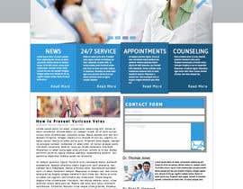 #17 for Design a Website Mockup for a surgeon af andrejor