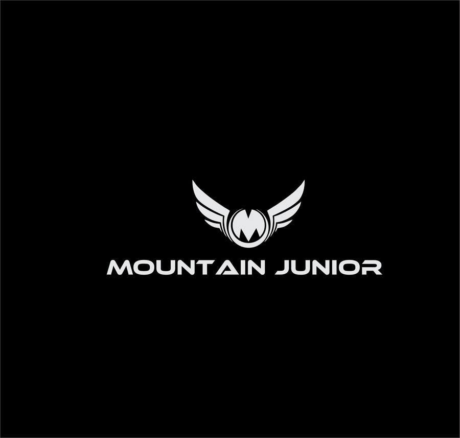 """Penyertaan Peraduan #4 untuk Design a Logo for """"Mountain Junior"""" sports club"""