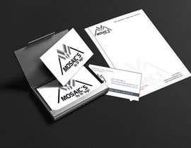#2 for Design a letterhead and business card for a Mosaic Company af ayishascorpio