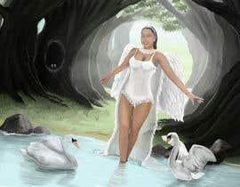 #16 for Fantasy art contest: Cygnisia the Swan-maiden af simon055