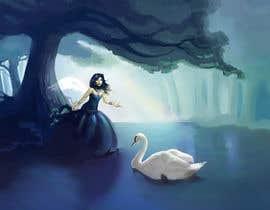 #23 for Fantasy art contest: Cygnisia the Swan-maiden af TrevorGuitar