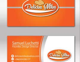 #24 untuk Logo and Business Card for Delicias Milas oleh georgeecstazy