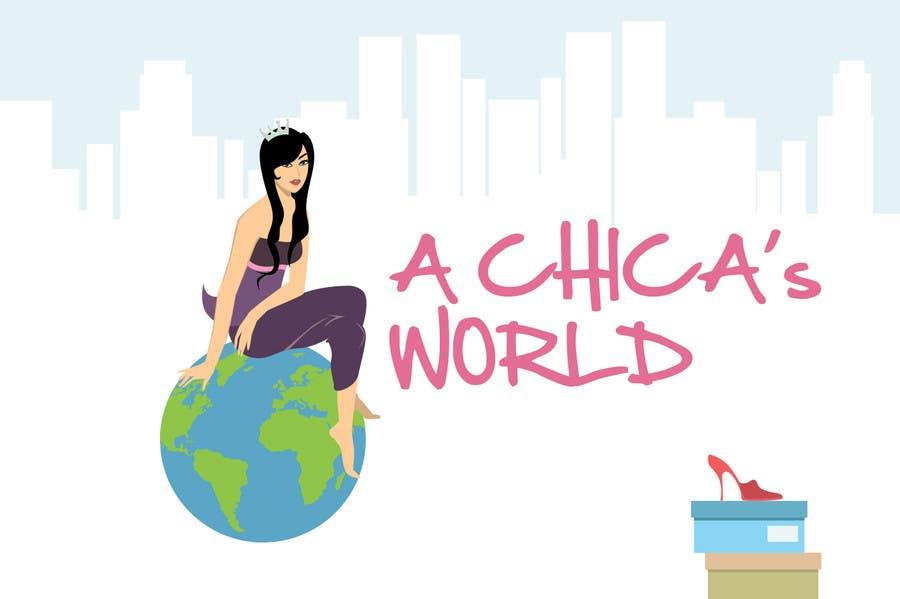 Bài tham dự cuộc thi #60 cho Design a Logo for A Chica's World