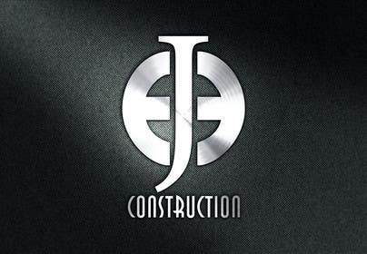 Nro 112 kilpailuun Design a Logo for EJE construction käyttäjältä zubidesigner