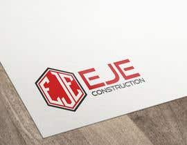 Nro 32 kilpailuun Design a Logo for EJE construction käyttäjältä vladspataroiu