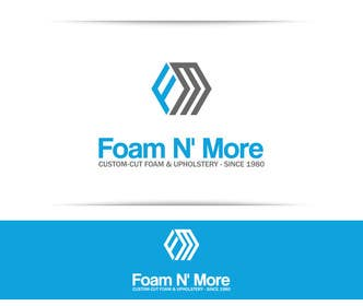 #172 cho Design a Logo for Foam N' More bởi SergiuDorin