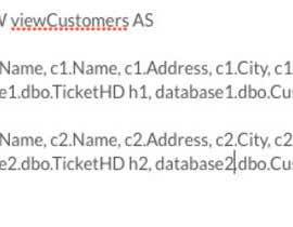 #8 for Query across multiple databases on same server af aquaa