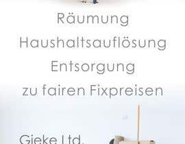 Nro 11 kilpailuun Design eines Flugblatts for Räumungunternehmen käyttäjältä designciumas