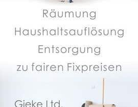 #11 for Design eines Flugblatts for Räumungunternehmen af designciumas