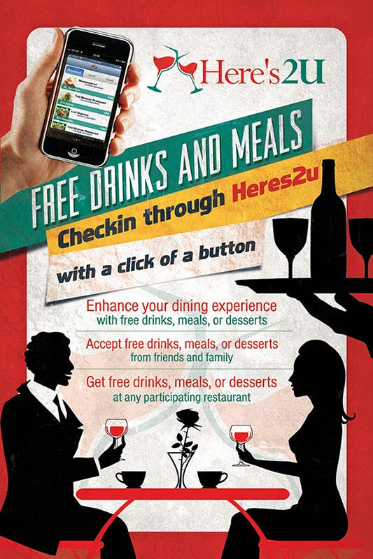 #6 for Design a In-store Restaurant Flyer for Mobile App. by creationz2011