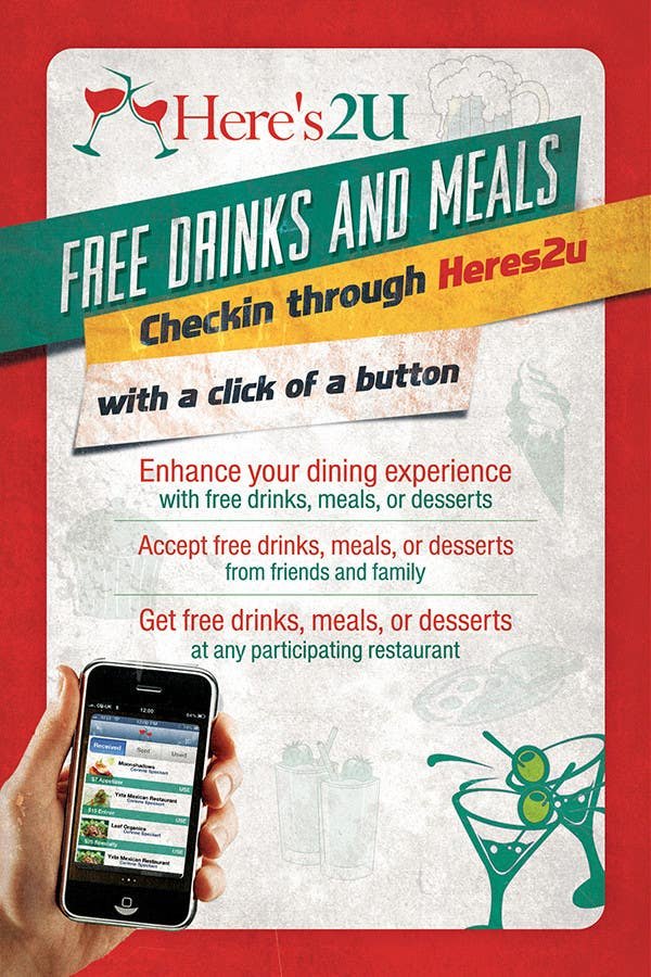 #14 for Design a In-store Restaurant Flyer for Mobile App. by creationz2011