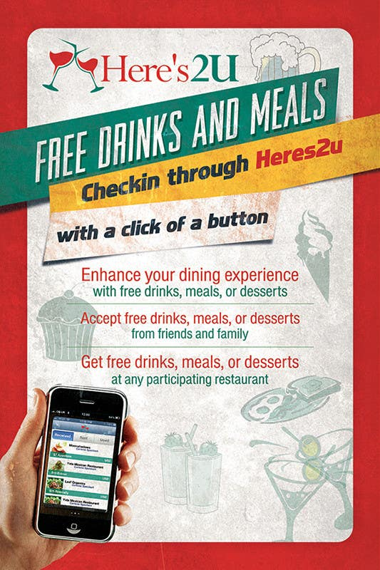 #17 for Design a In-store Restaurant Flyer for Mobile App. by creationz2011