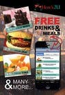 Contest Entry #24 for Design a In-store Restaurant Flyer for Mobile App.