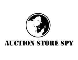 Nro 14 kilpailuun Logo for Auction Store Spy käyttäjältä heberomay