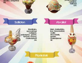 #8 for Create an ice cream parlor menu by brissiaboyd