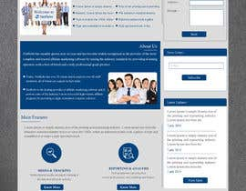 Nro 13 kilpailuun Creative Website Design Mockup käyttäjältä ravinderss2014