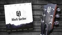 Graphic Design Konkurrenceindlæg #33 for Design a Logo for a Guitar Strings company called Black Harbor.