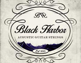 lucaender tarafından Design a Logo for a Guitar Strings company called Black Harbor. için no 133