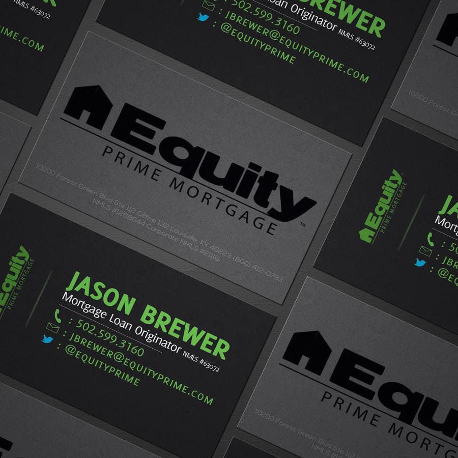 Penyertaan Peraduan #78 untuk Business Card Design