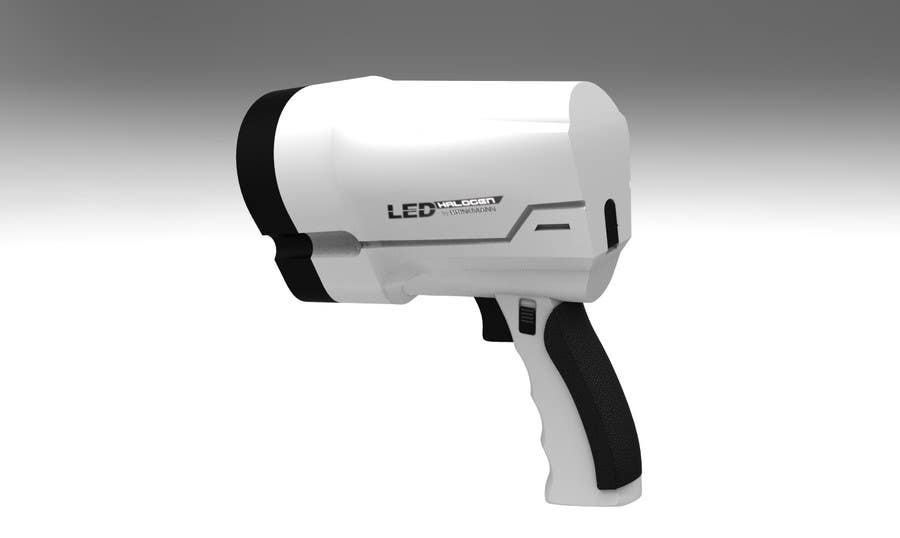 Contest Entry #5 for NASA Challenge: Develop 3D Models for Robonaut Simulation-Large Trigger Flashlight