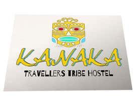 Nro 3 kilpailuun logo kanaka hostel käyttäjältä annievisualart