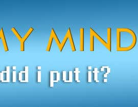 "nº 27 pour Banner Design for Online Magazine about ""My Mind"" par punterash"