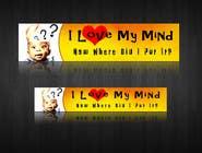 "Graphic Design Entri Peraduan #4 for Banner Design for Online Magazine about ""My Mind"""