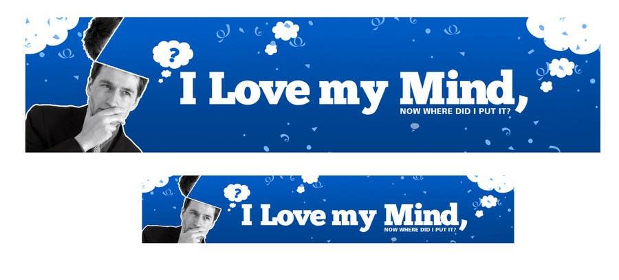 """Konkurrenceindlæg #                                        23                                      for                                         Banner Design for Online Magazine about """"My Mind"""""""