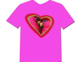 #21 cho Lovebird Design for White and Pink Women's T-Shirts bởi gopalnitin