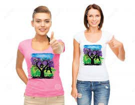 #51 cho Lovebird Design for White and Pink Women's T-Shirts bởi AWAIS0