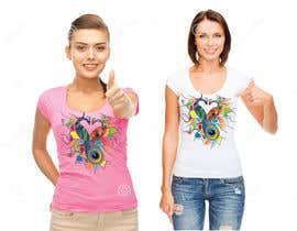 #61 cho Lovebird Design for White and Pink Women's T-Shirts bởi AWAIS0