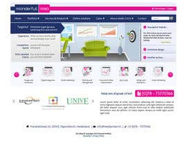 #30 para Design a Website Mockup for www.wonderfullweb.nl por aleksejspasibo