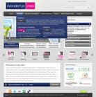 Graphic Design Entri Peraduan #21 for Design a Website Mockup for www.wonderfullweb.nl