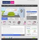 Graphic Design Entri Peraduan #36 for Design a Website Mockup for www.wonderfullweb.nl