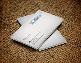 anilabaloch tarafından Design Contemporary, Modern Business Cards for Strategic Note Network için no 23