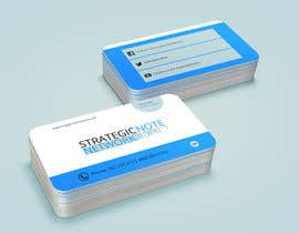 #21 for Design Contemporary, Modern Business Cards for Strategic Note Network af manojkaninwal