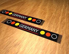 #2 for Germany Scarf Design af toi007